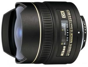 Nikkor 10.5mm焦距的超廣角魚眼鏡頭