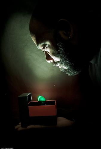 使用遙控閃燈能拍出特別的效果