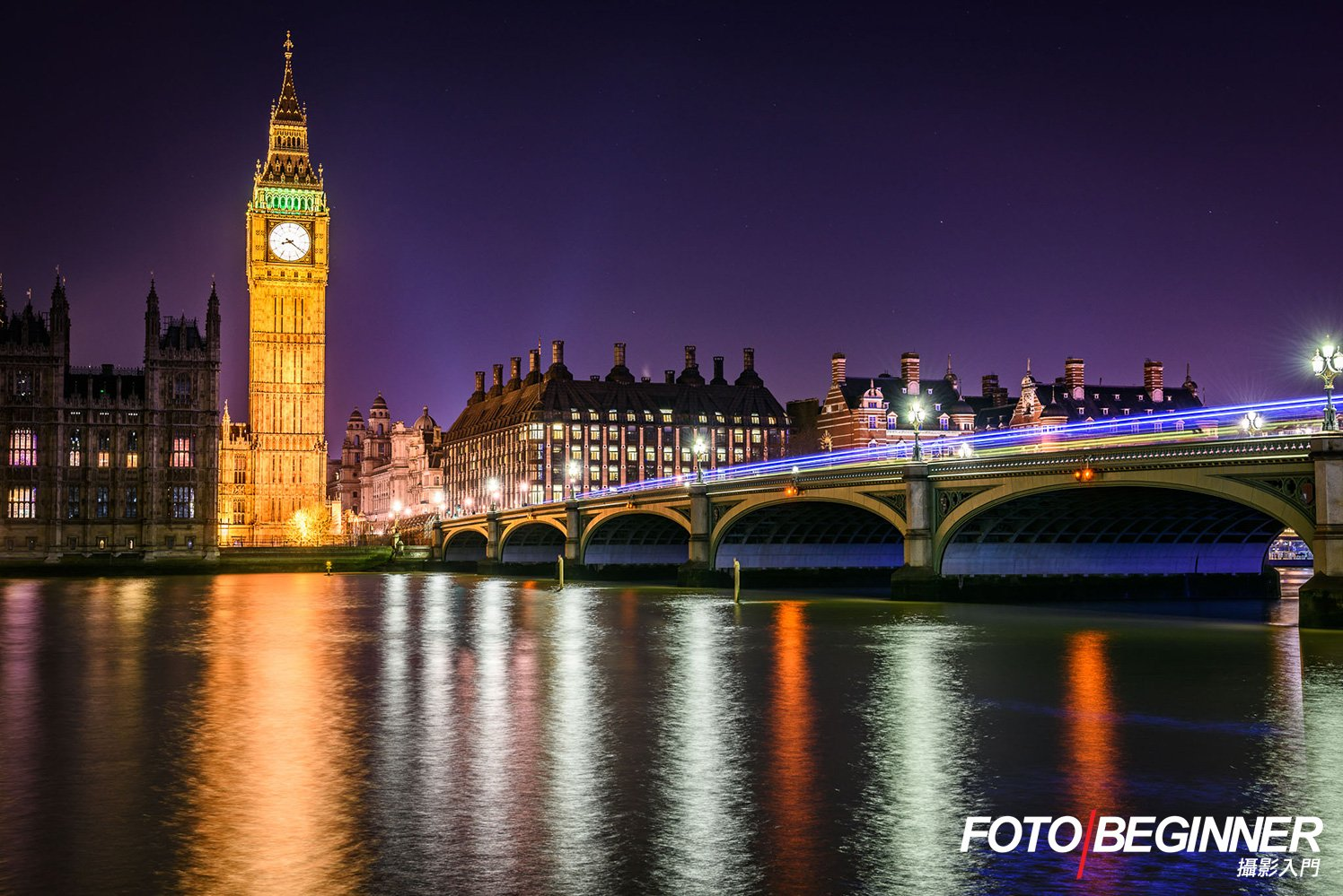 London Night Scene