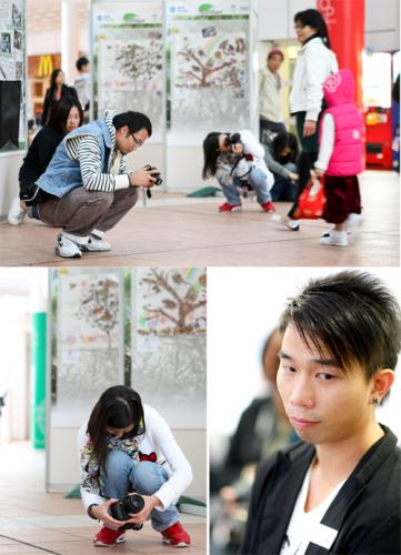 各位同學都在認真的練習(By Michael Leung)