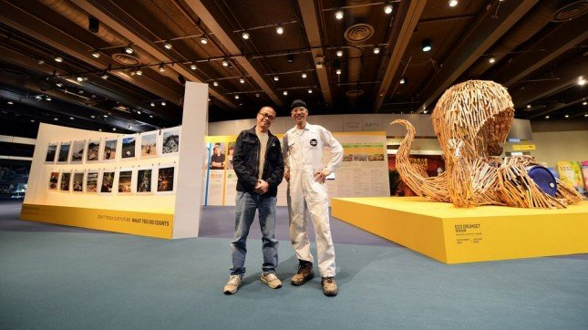 Hong Kong Cleanup Exhibition_Artist Kacey Wong & Photographer Andrew Tang