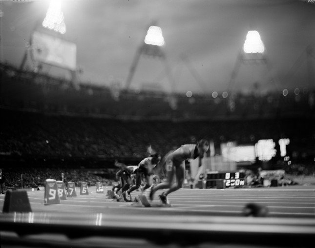 ©2012 David Burnett/I O C  Womens 200M August 2012 London Games 2012