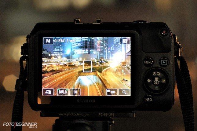 配備多點觸控式螢幕的EOS M,無論是光圈、快門、ISO還是對焦點也可以直接點擊螢幕來輕鬆設定!