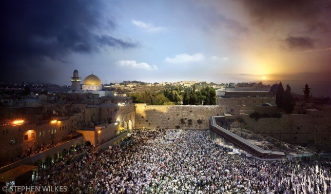 DAY_TO_NIGHT_WESTERN_WALL_JERUSALEM