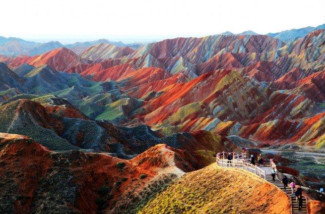 Photo by {link:http://unbelievableinfo.blogspot.it/2013/01/zhangye-danxia-land-formation.html}unbelievableinfo.blogspot.it{/link}