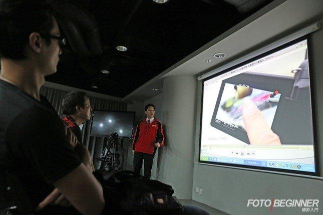 短片拍攝是EOS 70D的一大賣點,當然會有示範短片,令各人更清楚其強大功能。