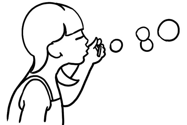 10 每一個小孩(或大人)也喜歡肥皂泡泡!當他們玩耍時也是拍攝的好時刻。但要小心找尋合適的光線來突出泡泡。