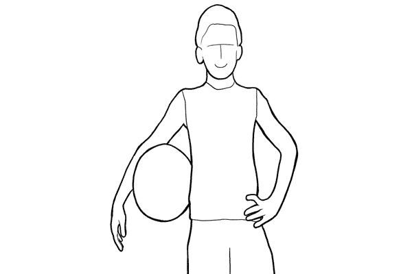 16 若果小孩有一樣很喜歡的運動,試試讓他做一個跟運動有關的pose然後拍攝吧!