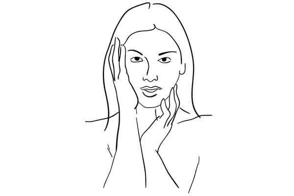 (2) 使用雙手來作動作 - model可以利用雙手的擺動來產生有趣的畫面,例如放在臉上,頭上等等。但留意應該只可看到手的側面。