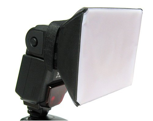 為閃光燈加上柔光配件,可以創造漂亮的光線!