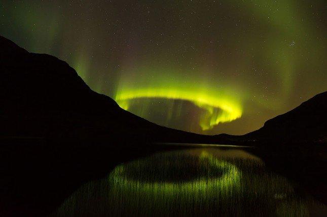(9) 挪威北極光。Picture: Robert McDonagh