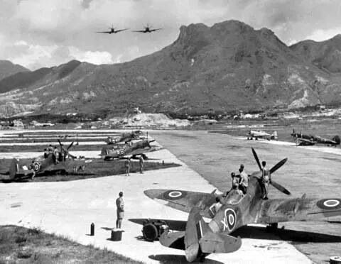 HK Kai Tak RAF base maybe 1950's