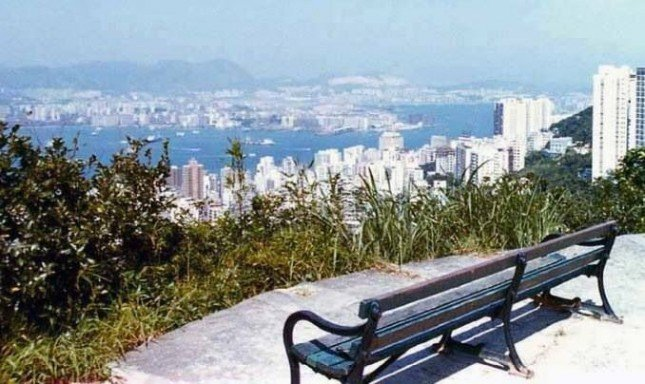 View from The Peak 1960's