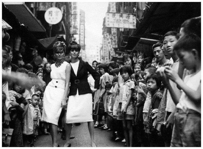 Models in HK in 1964