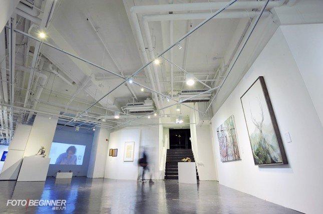 K11 Art 展覧場地很寬倘,令人可以舒適地欣賞展品。