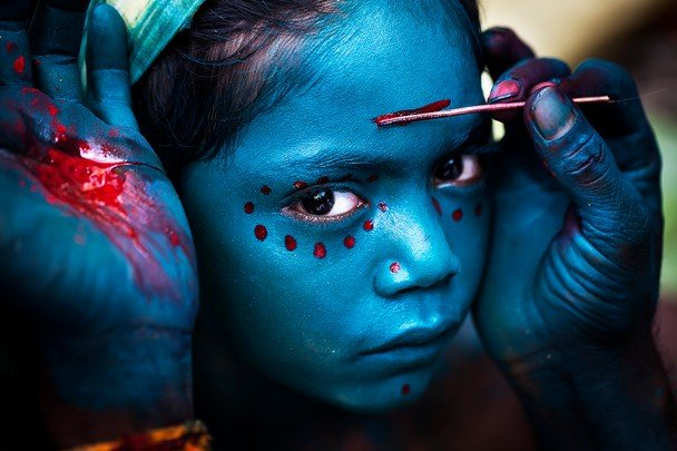 Merit Prize Winner: Divine Makeover Photo and caption by Mahesh Balasubramanian