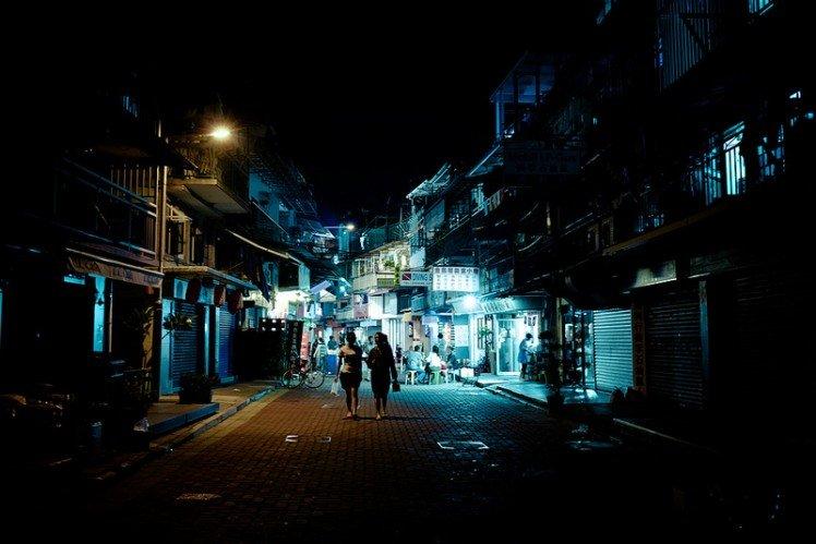 夜小巷 D7000