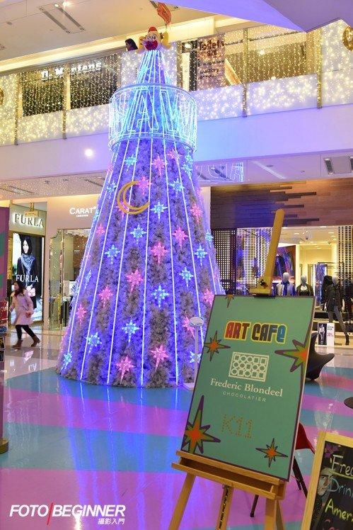 巨型聖誕樹當然不能少,學學怎樣拍吧!