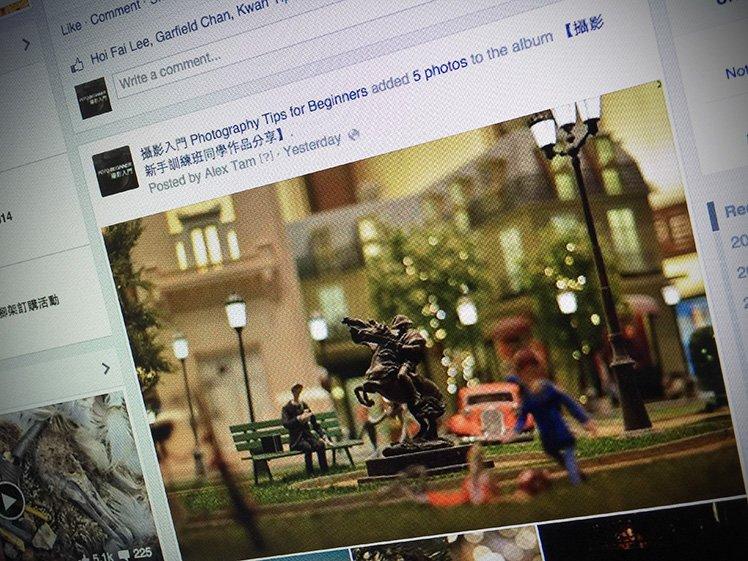 分享相片到社交媒體有機會激發你的創意啊!
