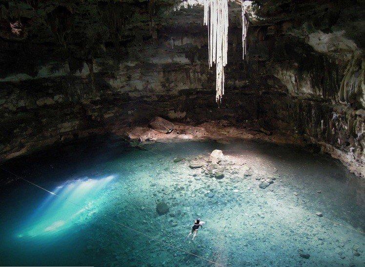 Cenote Dzitnup, Yucatan, Mexico
