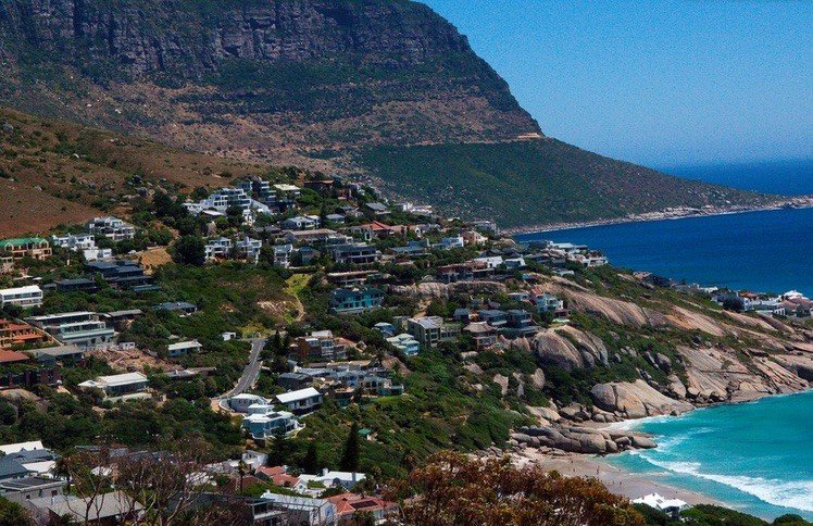Coastal Road in Cape Town, South Africa