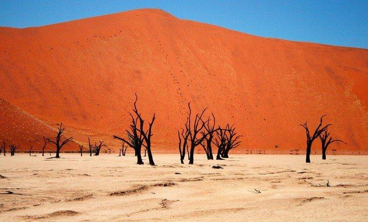 Namib Desert in Sossusvlei, Namibia