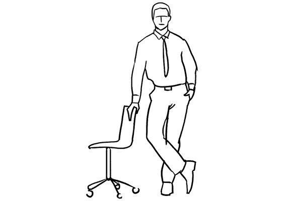 (15) 利用椅子作為道具可以令相片更生動吸引。