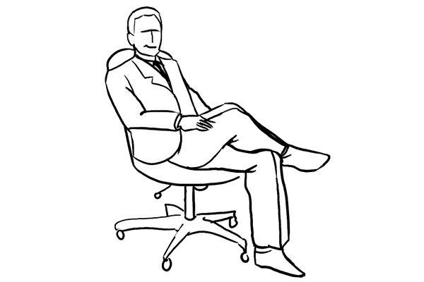 (16) 對於工作照,或是專業人士的相片,輕鬆地坐在椅子上也是一個很好的嘗試。