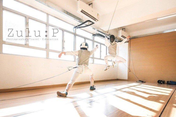 非一般運動攝影 - 劍擊運動