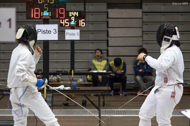 2015 大專劍擊賽小分享