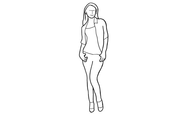 (12) 如果你要拍全身照,這個簡單的擺姿可以先嘗試。