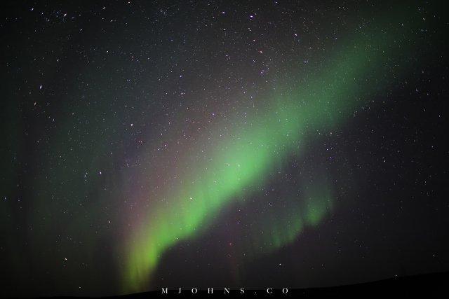 天堂在上:二十年最強極光之夜