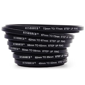 適合各種鏡頭加濾鏡的 Step-ring。 (Photo from amazon.co.uk)