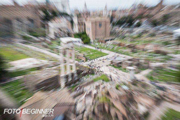 即使是普通的環境你也可以使用 Zoom burst 來拍攝。