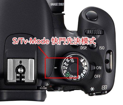 S/Tv-Mode 快門先決模式