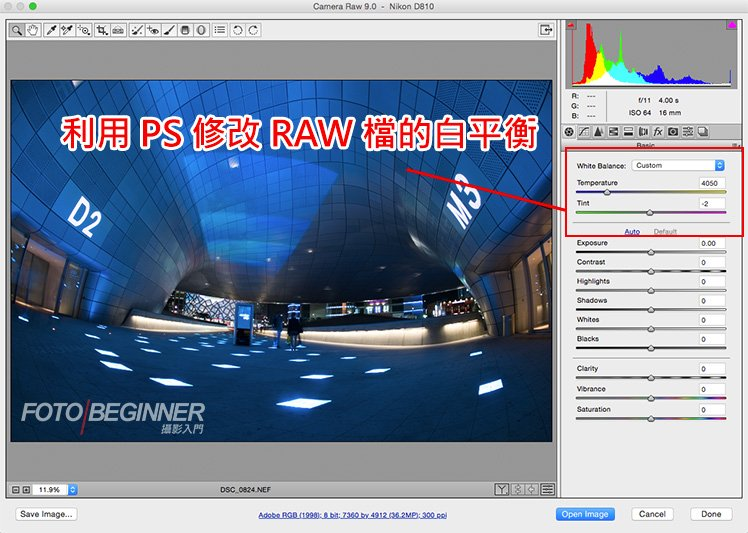 Photoshop Camera RAW