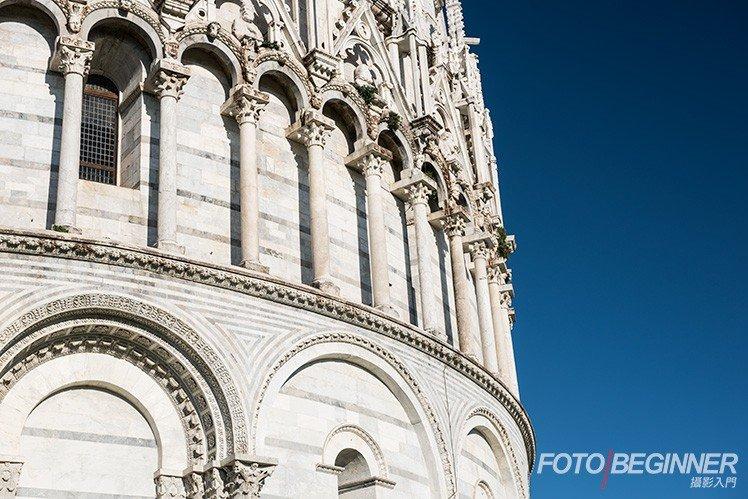 CPL 偏光鏡可以令天空更藍,突出建築物。