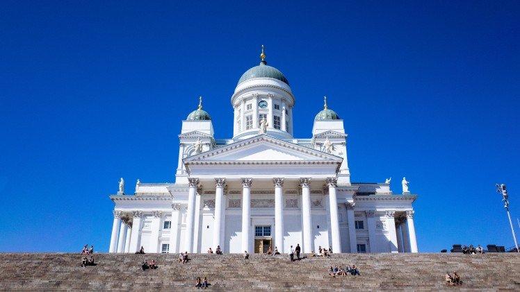 Lovely summer time at Helsinki