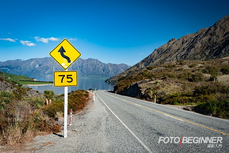 New Zealand road sign