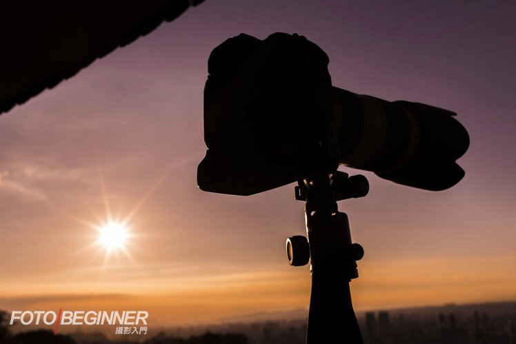 同學們也在日落時拍到漂亮的相片!
