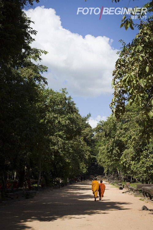 吴哥窟又怎可以少了當地的僧侶呢?