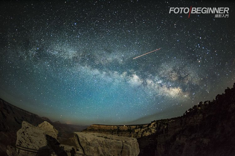 美國大峽谷銀河 Grand Canyon Milkyway