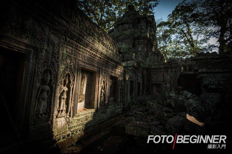 光和暗可以為相片加水竹大添戲劇效果。
