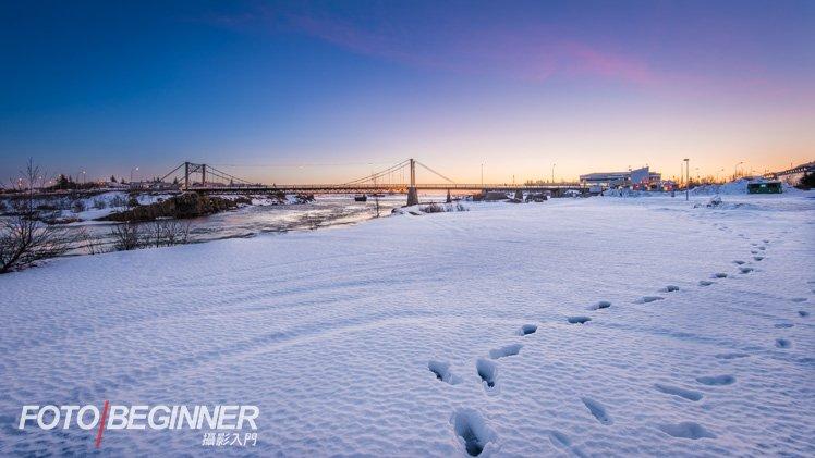 早點起床,到酒店外拍攝漂亮的日出吧!