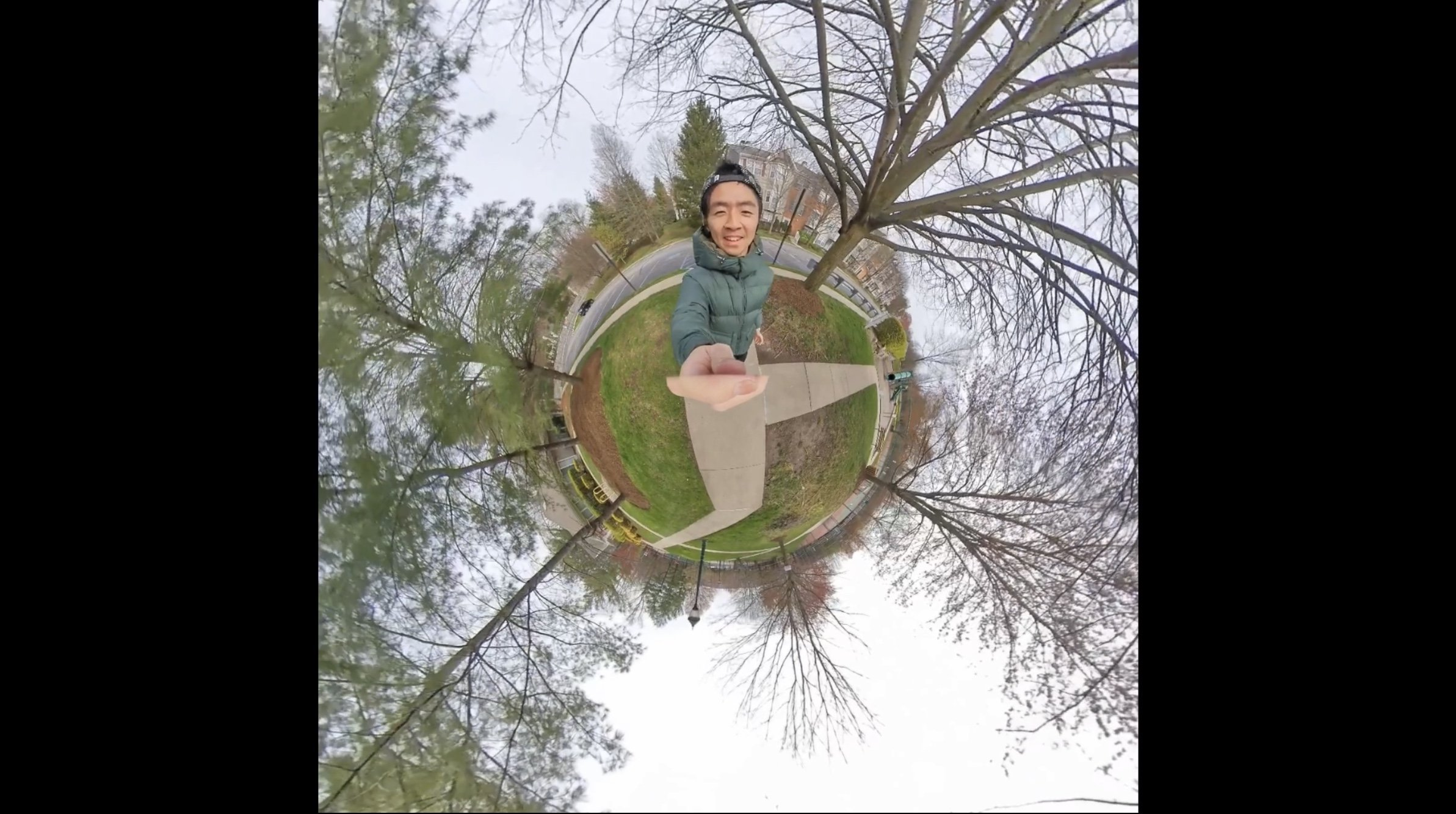 how to shoot tiny planet video 如何拍攝Tiny Planet影片