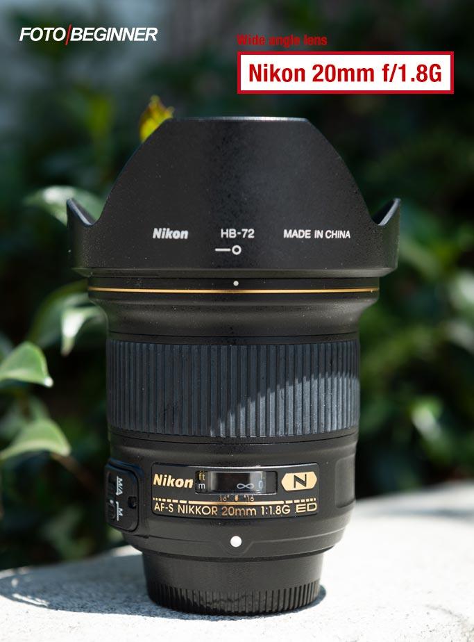 Nikon 20mm f/1.8G
